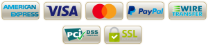 logos of payment options