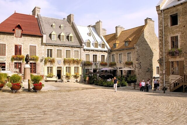 old city view in Quebec