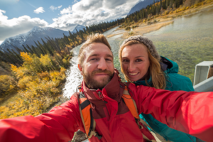 Canadian Couple Selfie