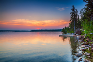 Lake in Manitoba